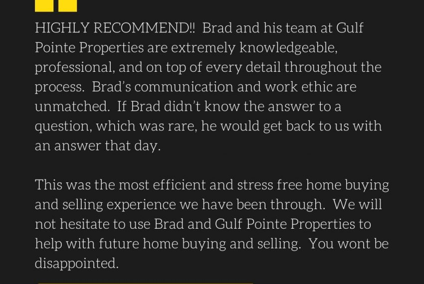 Gulf Pointe Properties Review